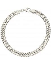 Oryginalna srebrna bransoletka galibardi 21 cm