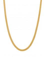 Złoty gruby naszyjnik popcorn 45 cm